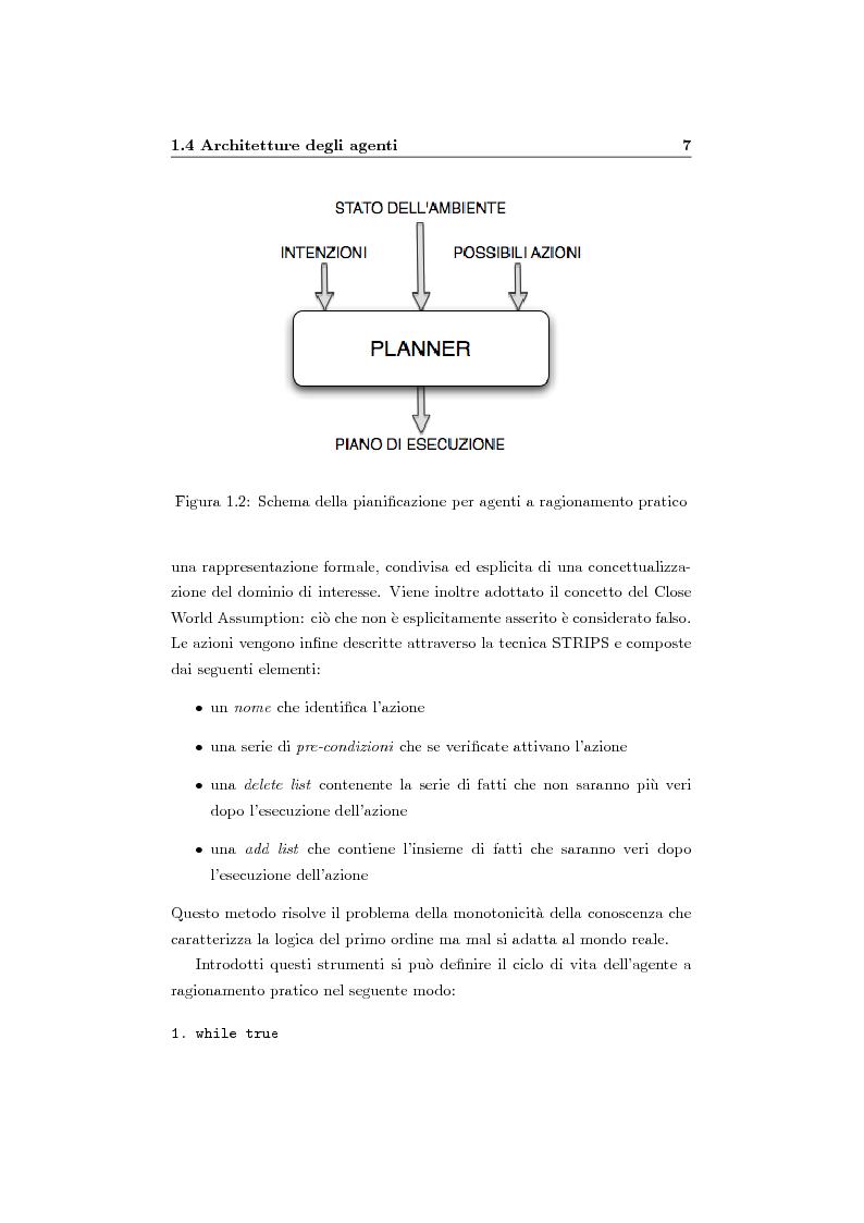 Anteprima della tesi: Organizzazione e ruoli in JADE: architettura BOID per la coordinazione, Pagina 9