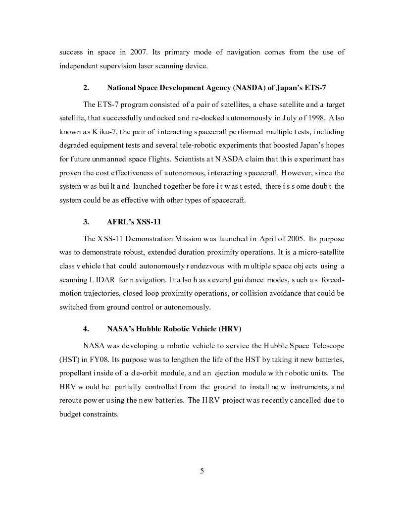 Anteprima della tesi: Relative Navigation of Multiple Spacecraft during Proximity Maneuvers, Pagina 3