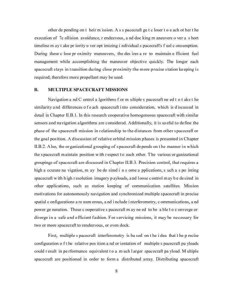 Anteprima della tesi: Relative Navigation of Multiple Spacecraft during Proximity Maneuvers, Pagina 6