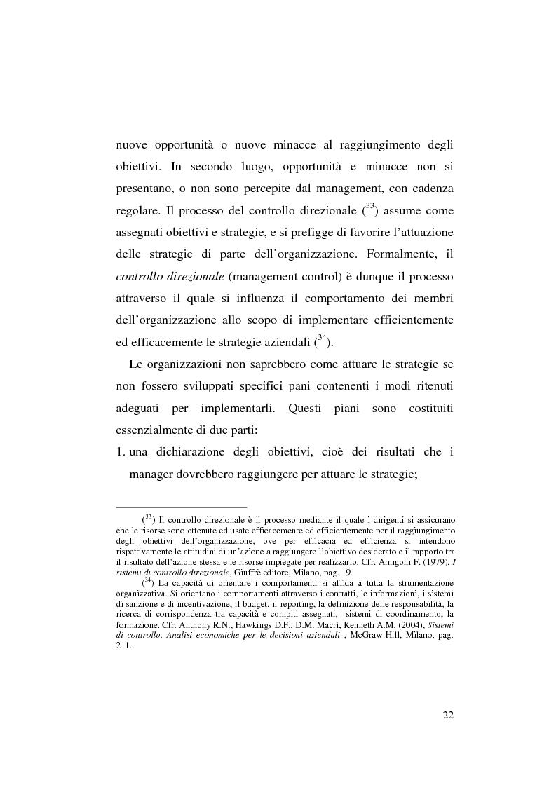 Anteprima della tesi: Il business plan nelle aziende teatrali. Il caso: ''La Divina Commedia. L'Opera.'', Pagina 14