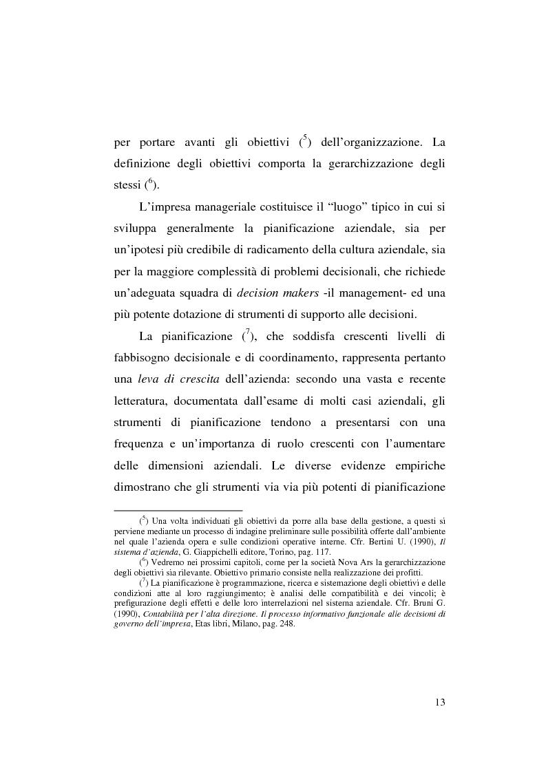 Anteprima della tesi: Il business plan nelle aziende teatrali. Il caso: ''La Divina Commedia. L'Opera.'', Pagina 5