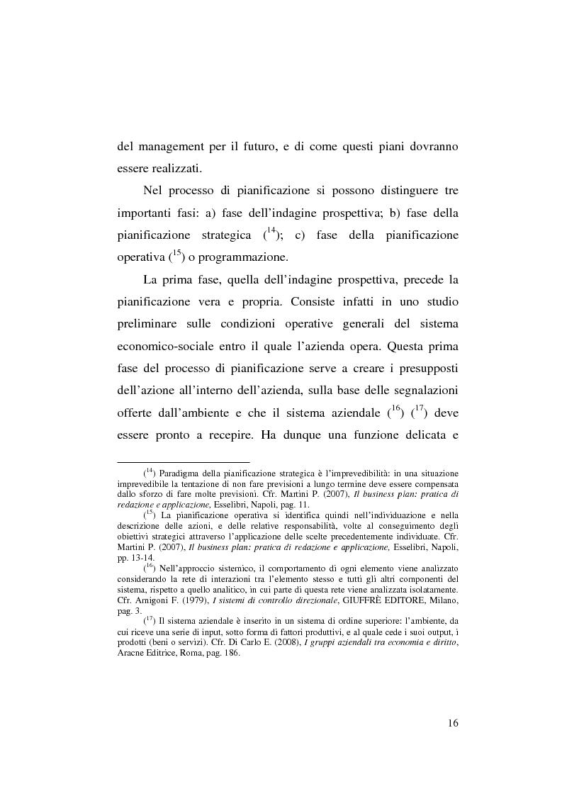 Anteprima della tesi: Il business plan nelle aziende teatrali. Il caso: ''La Divina Commedia. L'Opera.'', Pagina 8