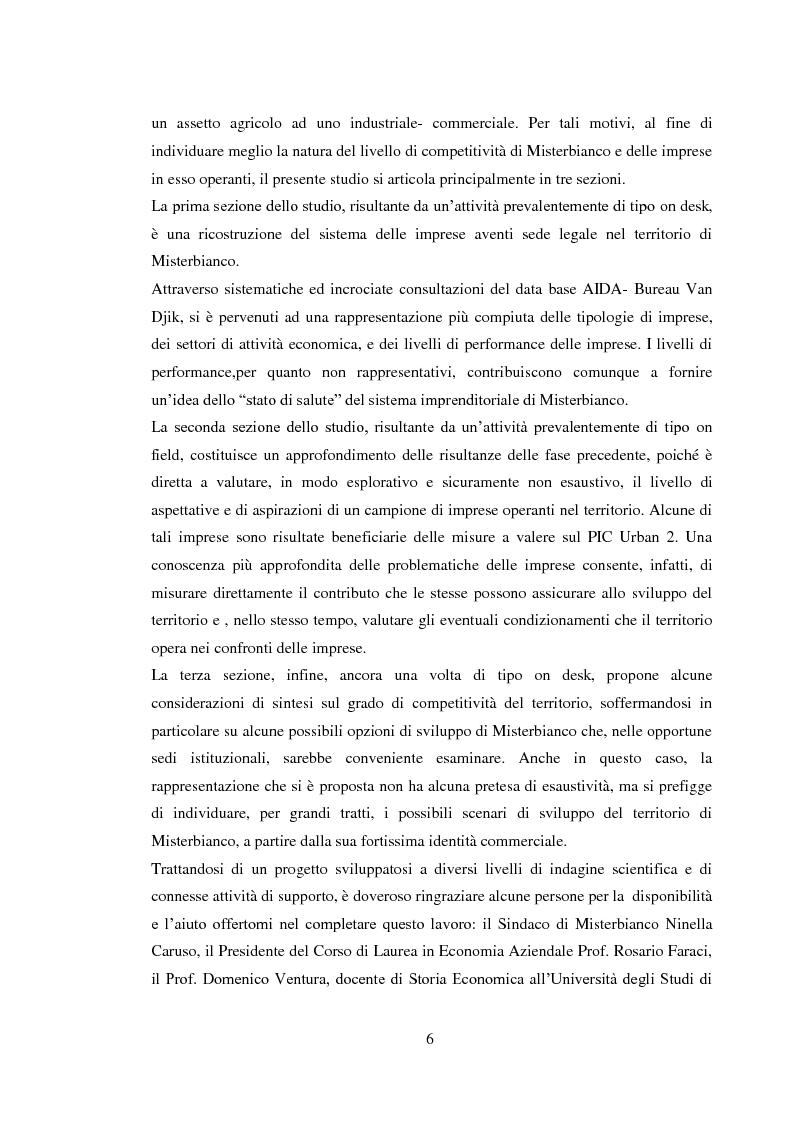 Anteprima della tesi: Da piccolo borgo rurale a grosso centro commerciale: il caso di Misterbianco, Pagina 2