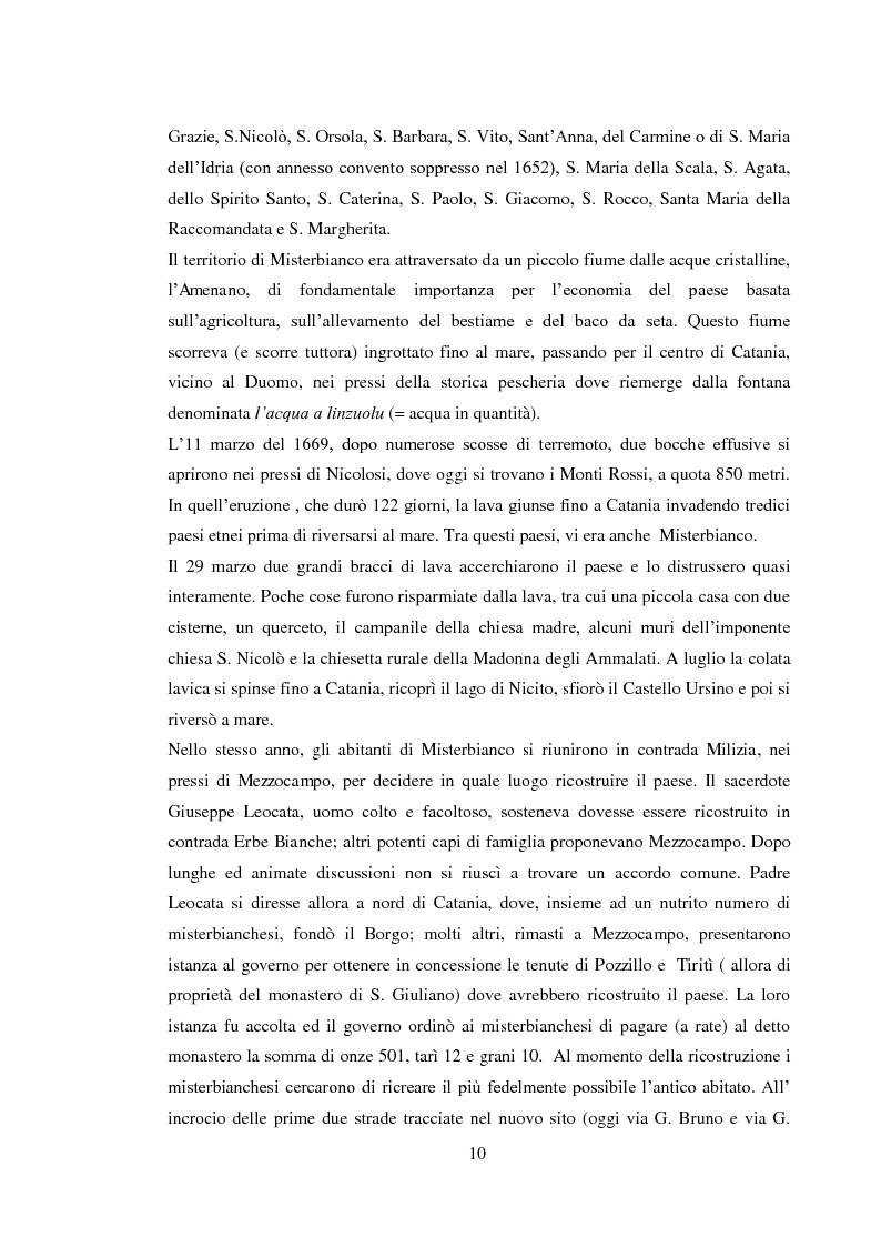 Anteprima della tesi: Da piccolo borgo rurale a grosso centro commerciale: il caso di Misterbianco, Pagina 6