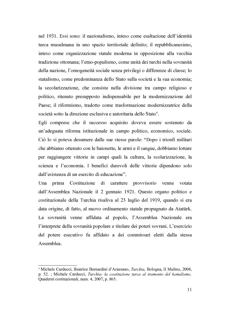 Anteprima della tesi: La Turchia e l'Europa, Pagina 5