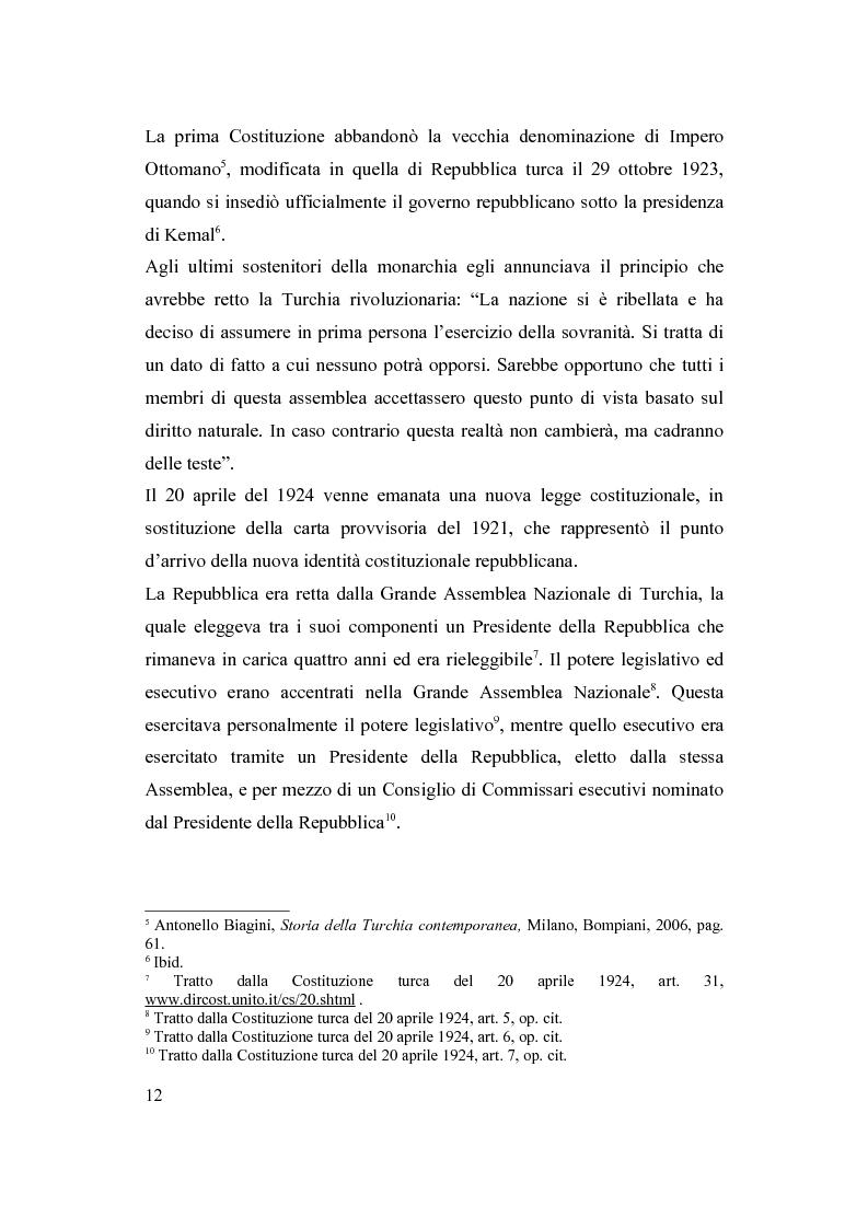 Anteprima della tesi: La Turchia e l'Europa, Pagina 6