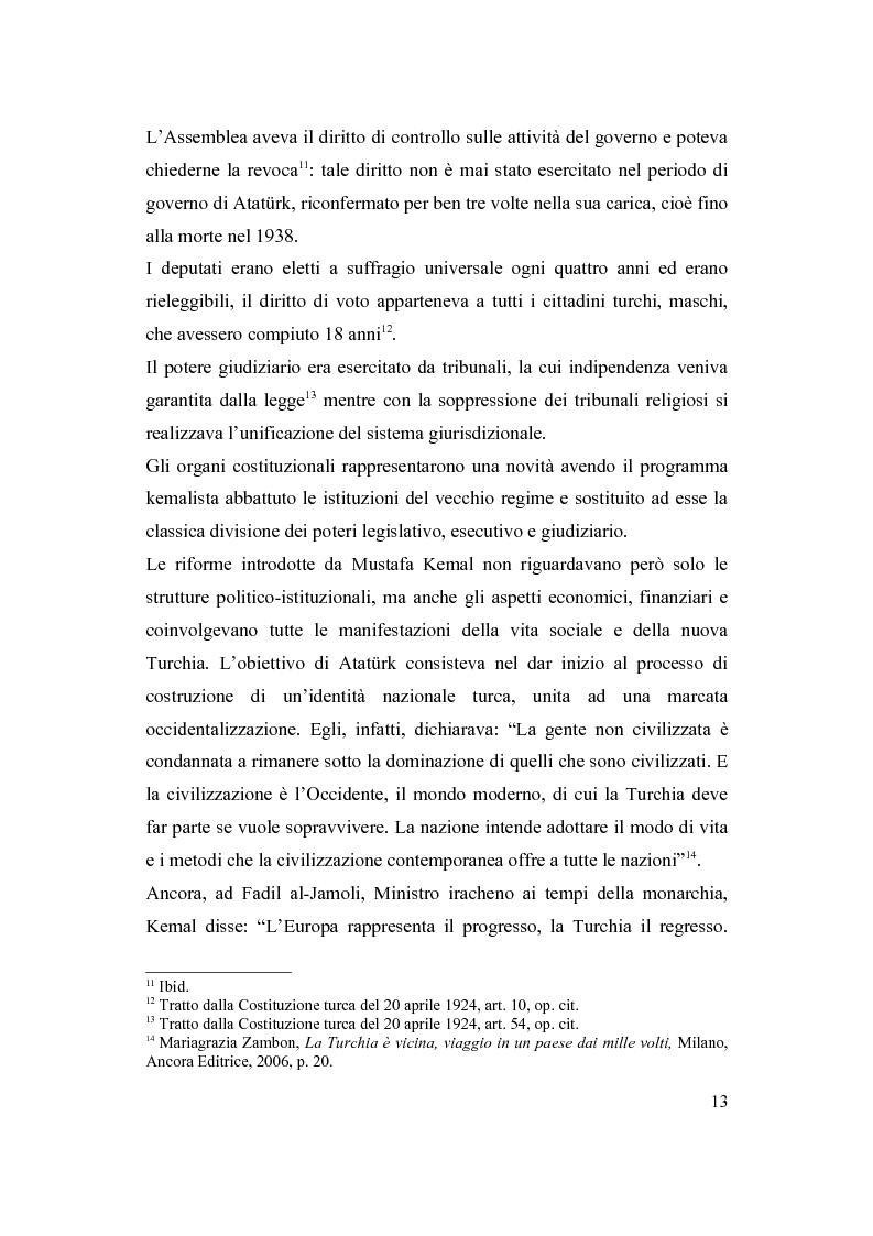 Anteprima della tesi: La Turchia e l'Europa, Pagina 7
