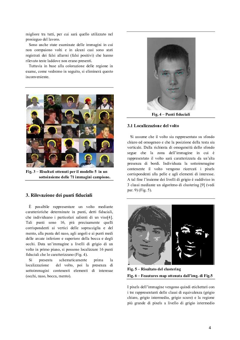 Anteprima della tesi: Rilevazione automatica di volti in immagini a colori, Pagina 1