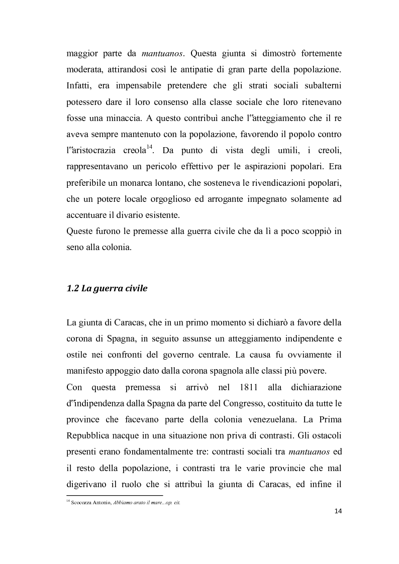 Anteprima della tesi: Analisi del discorso politico e dell'uso della cortesia e della scortesia nel discorso politico di Hugo Chavez Frias, Pagina 8