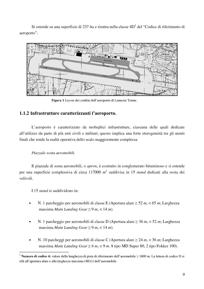 Anteprima della tesi: Le basi di un Safety Management System sull'Aeroporto Internazionale di Lamezia Terme, Pagina 4
