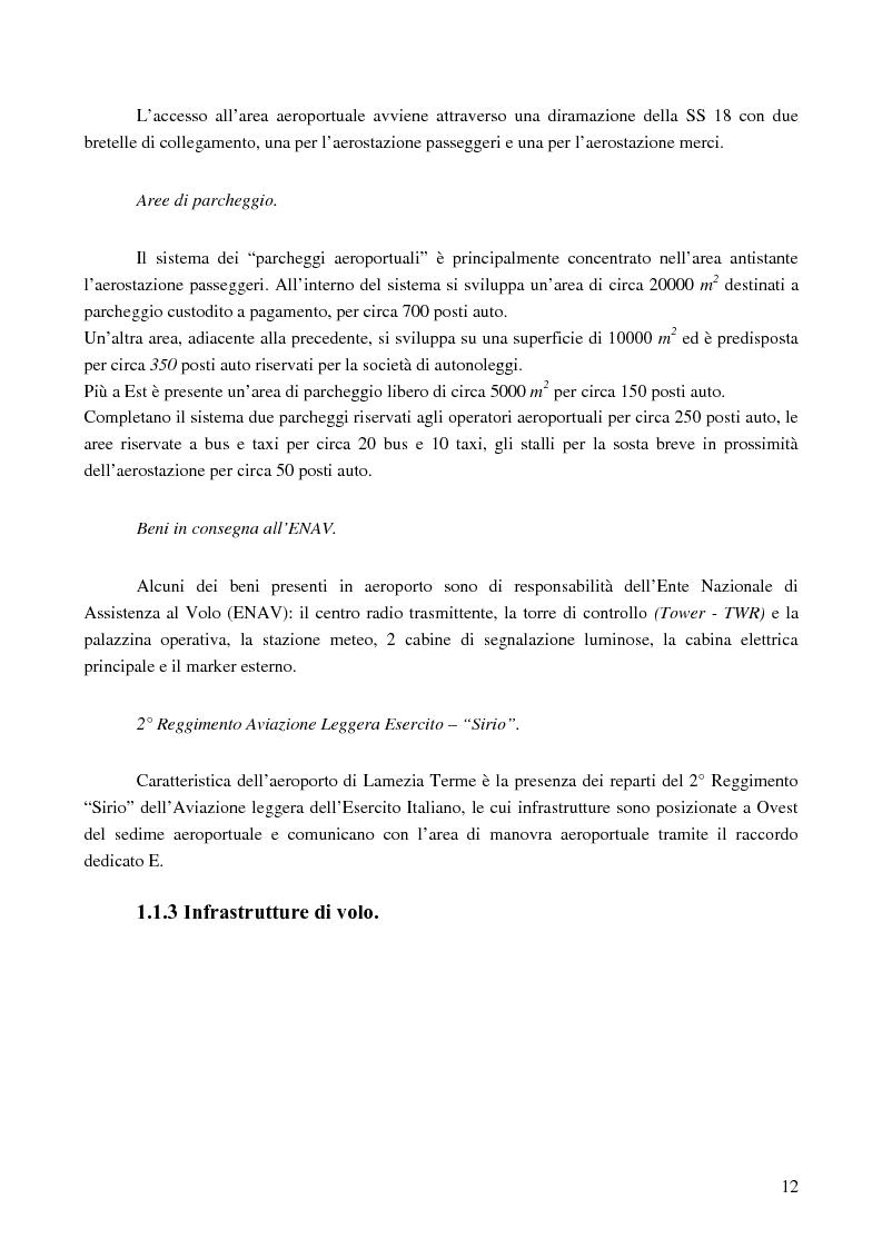Anteprima della tesi: Le basi di un Safety Management System sull'Aeroporto Internazionale di Lamezia Terme, Pagina 7