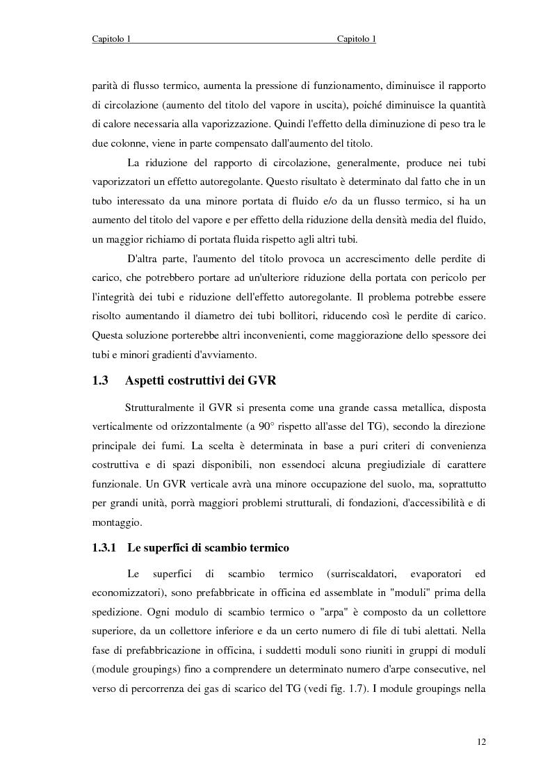 Anteprima della tesi: Strategie di controllo dei generatori di vapore in impianti a recupero, Pagina 12
