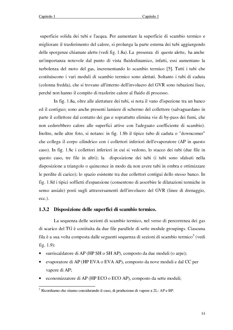 Anteprima della tesi: Strategie di controllo dei generatori di vapore in impianti a recupero, Pagina 14