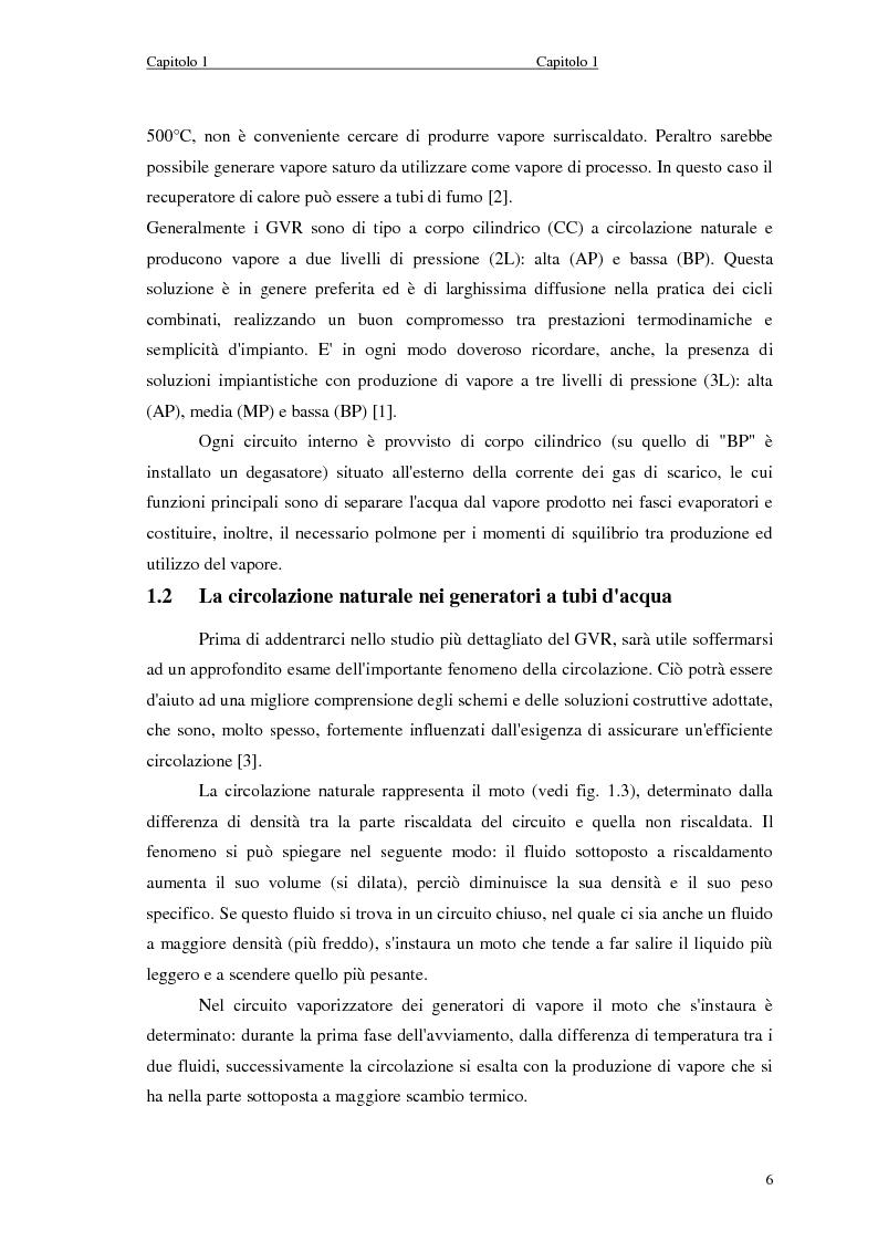 Anteprima della tesi: Strategie di controllo dei generatori di vapore in impianti a recupero, Pagina 6