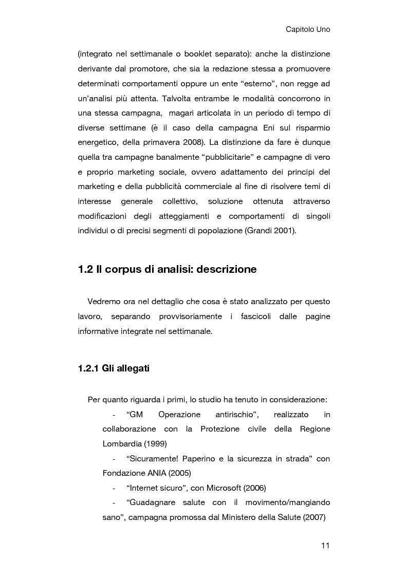 Anteprima della tesi: Le campagne di comunicazione sociale su Topolino: analisi di caso e valutazione dell'efficacia, Pagina 7
