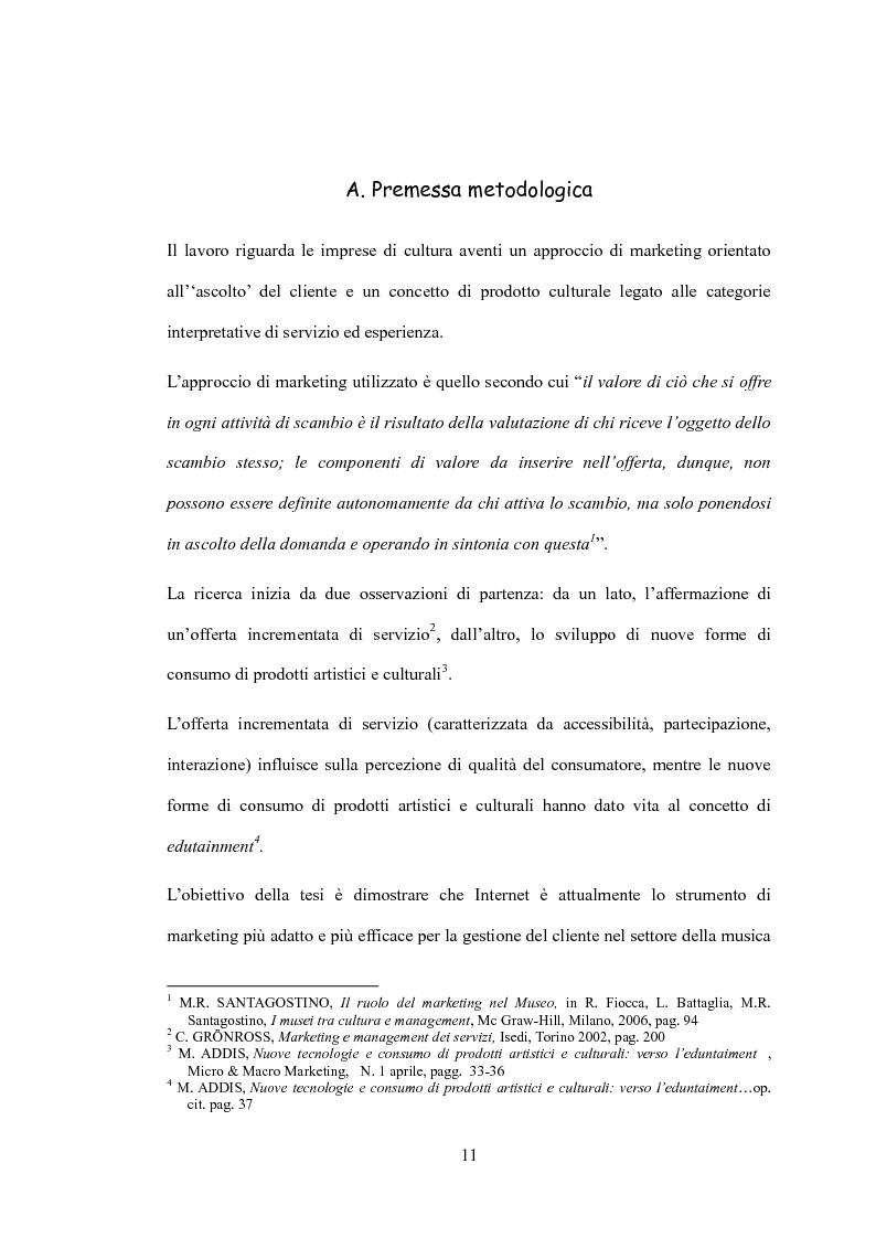 Anteprima della tesi: L'impatto delle nuove tecnologie sul mercato musicale: un confronto tra settore live e discografia, Pagina 1