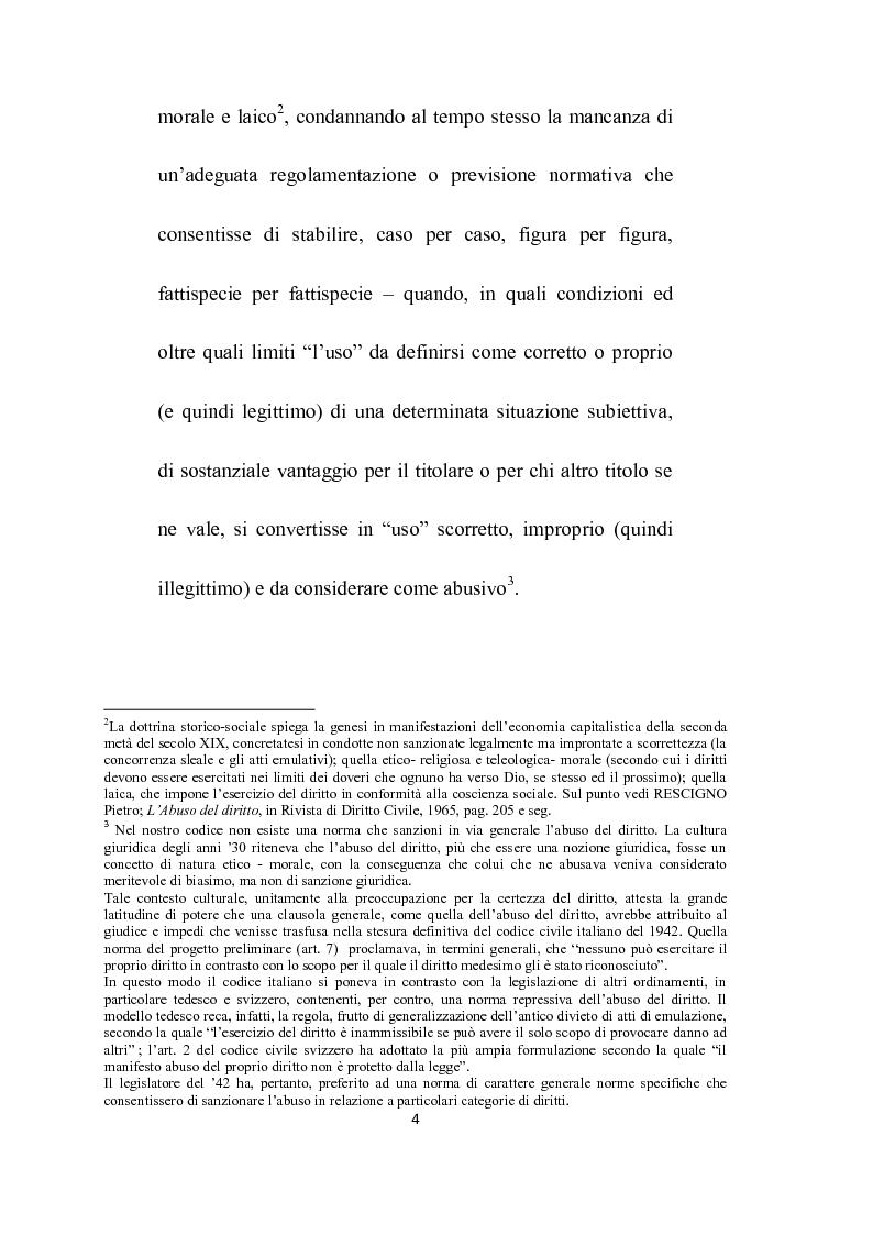 Anteprima della tesi: Abuso del processo amministrativo, Pagina 2