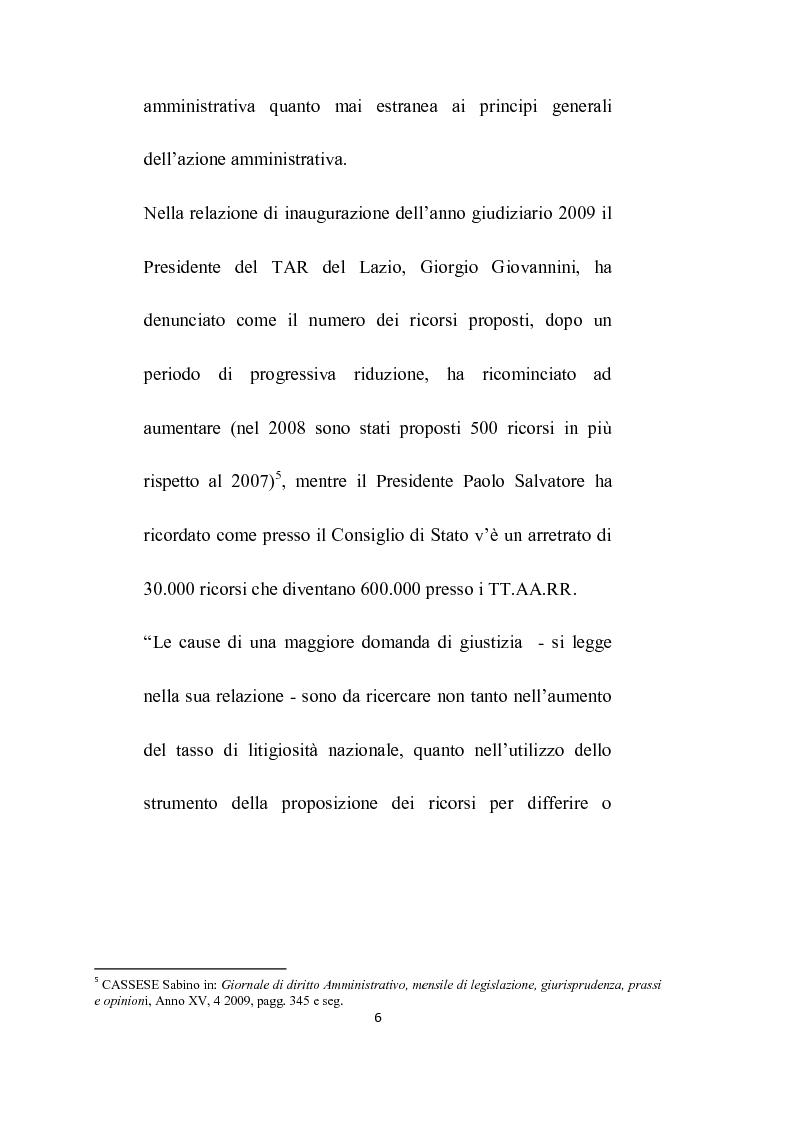 Anteprima della tesi: Abuso del processo amministrativo, Pagina 4