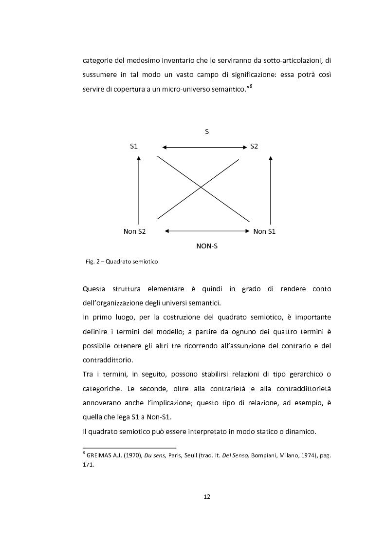 Anteprima della tesi: Semiotica a quattro ruote. Spazialità e valorizzazioni negli spot delle automobili., Pagina 10