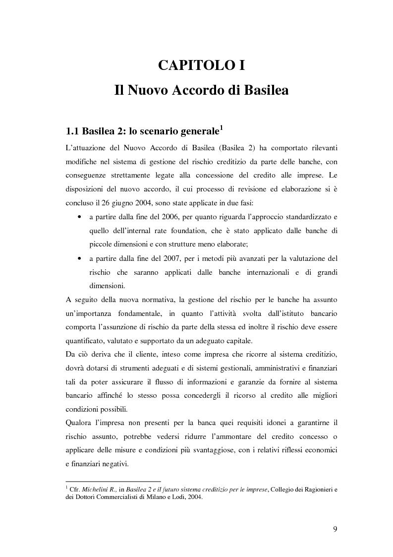 Anteprima della tesi: L'accesso al credito per le imprese assicurate, Pagina 5