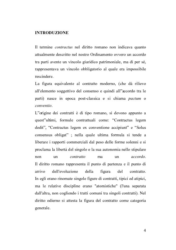 Anteprima della tesi: Le clausole vessatorie presenti nei contratti di viaggio, Pagina 1