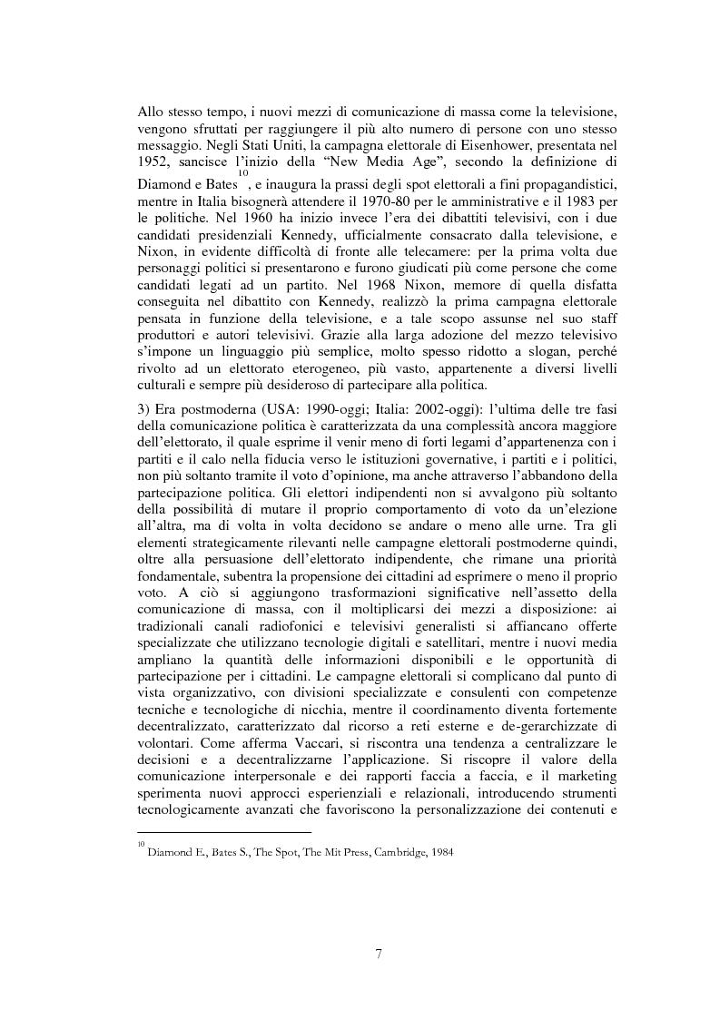 Anteprima della tesi: Il ruolo di Internet nella campagna elettorale per le elezioni presidenziali americane del 2008, Pagina 5
