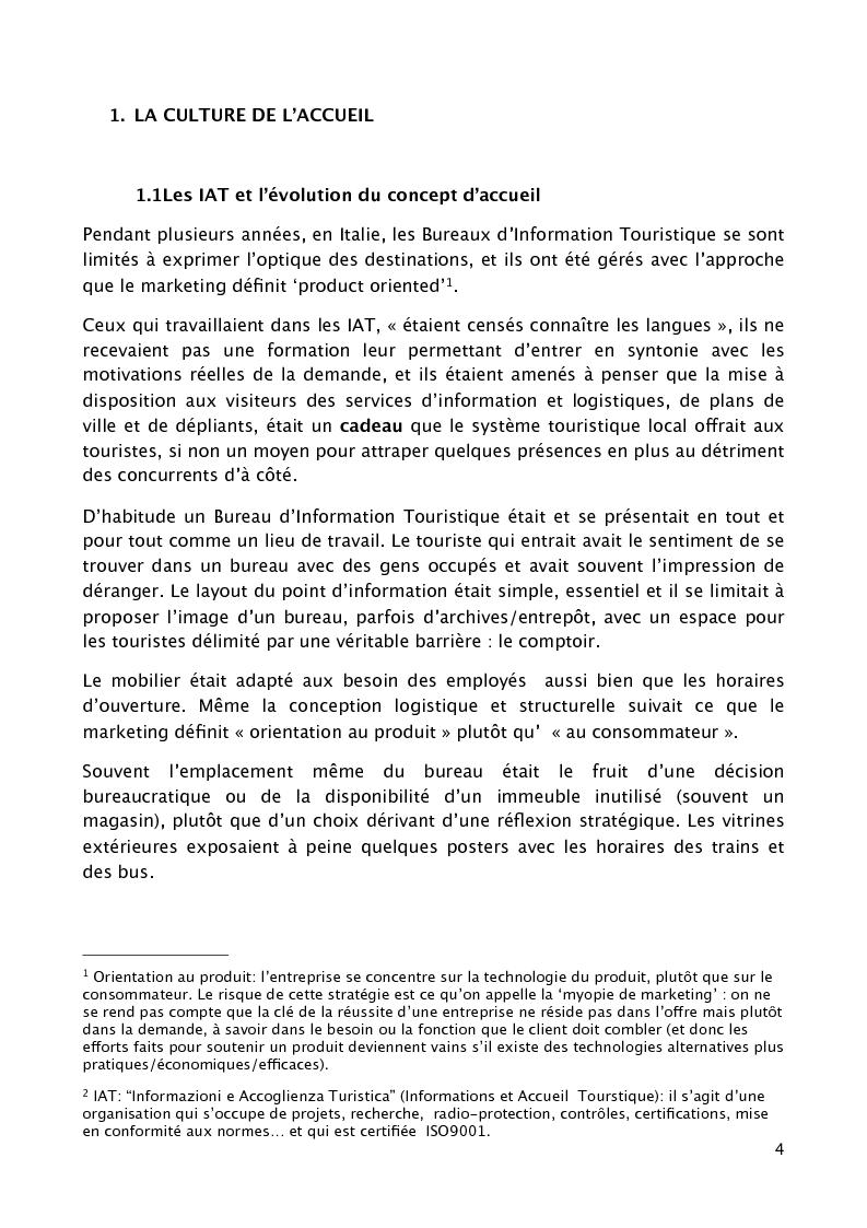 """Anteprima della tesi: L'accueil du client au sein d'un grand établissement hôtelier : le cas du """"Cristal Palace Hotel"""", Pagina 2"""
