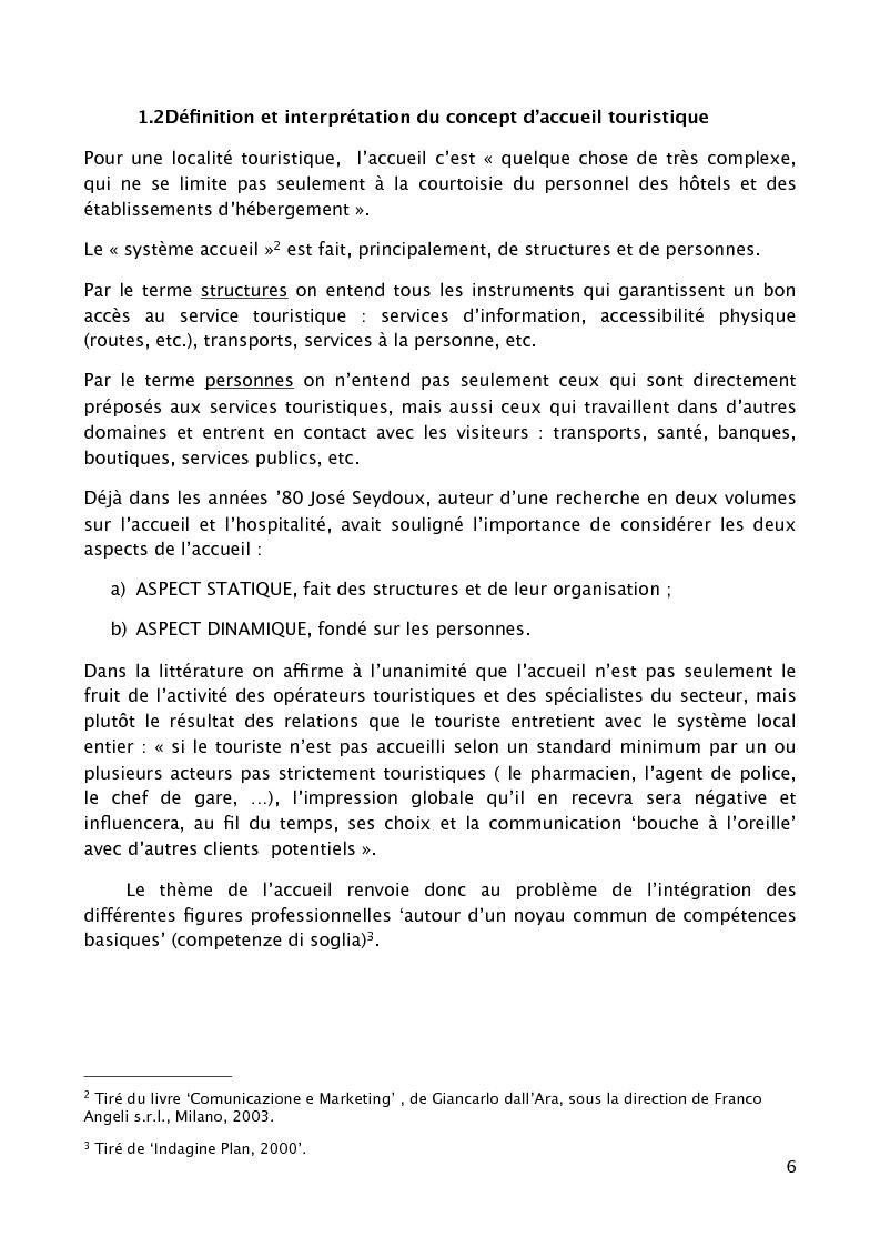 """Anteprima della tesi: L'accueil du client au sein d'un grand établissement hôtelier : le cas du """"Cristal Palace Hotel"""", Pagina 4"""