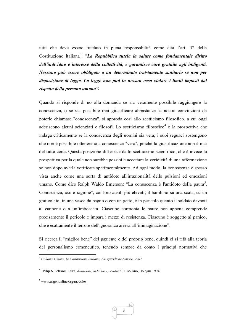 Anteprima della tesi: La Contropulsazione Aortica: studio di ricerca quantitativa e progetto formativo tra competenze, conoscenze e conflitti professionali, Pagina 3