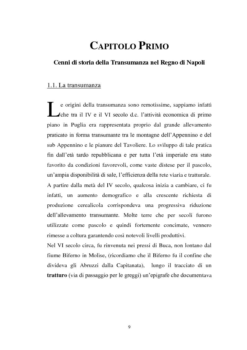 Anteprima della tesi: La cultura pastorale tra Puglia e Abruzzo, Pagina 4