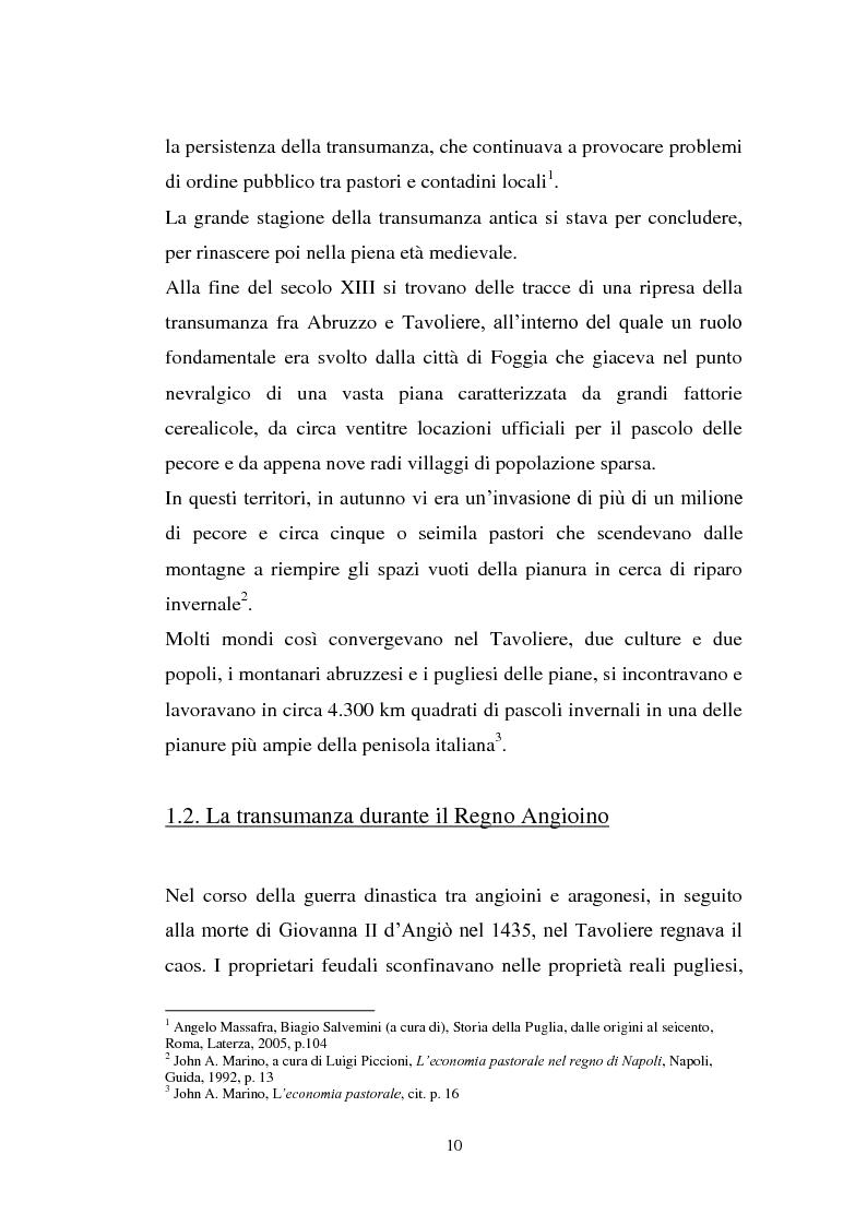 Anteprima della tesi: La cultura pastorale tra Puglia e Abruzzo, Pagina 5