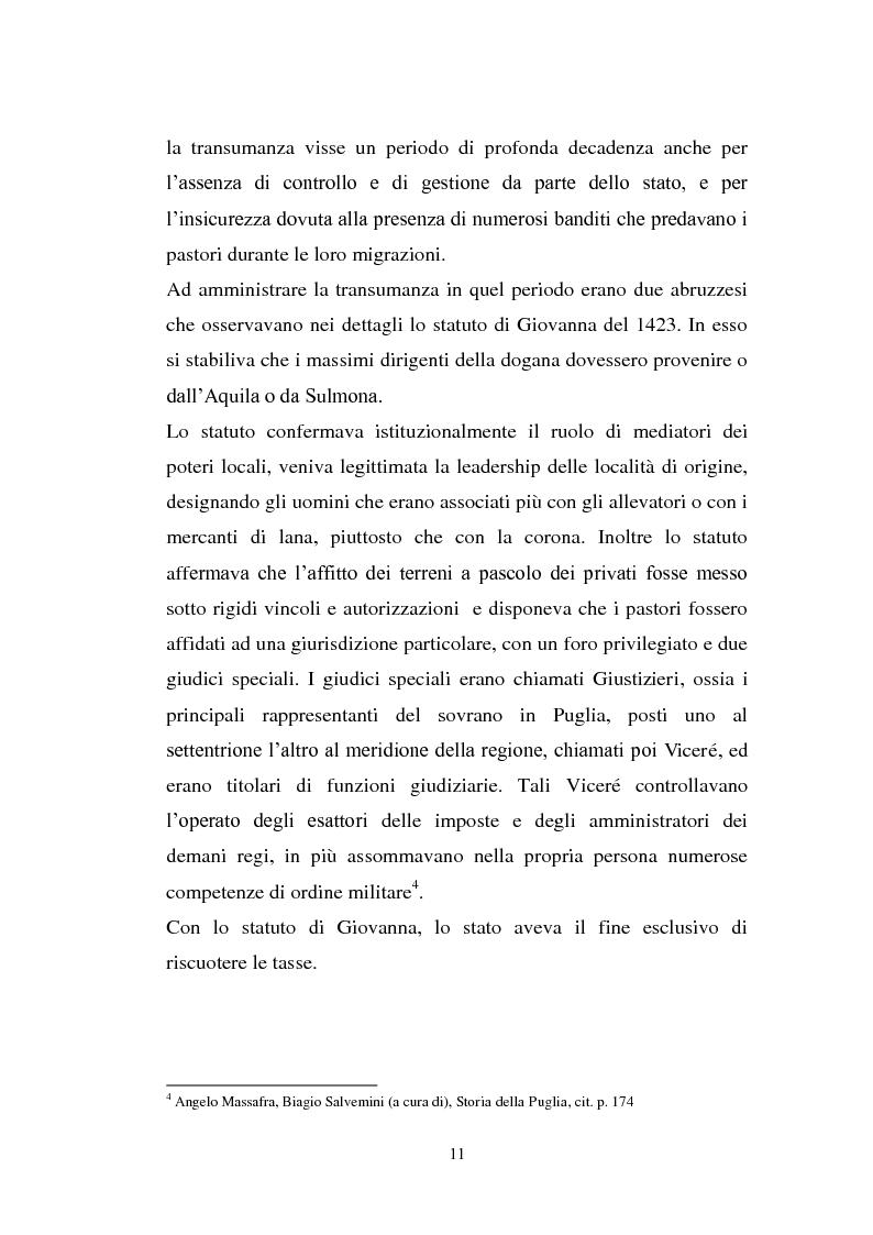 Anteprima della tesi: La cultura pastorale tra Puglia e Abruzzo, Pagina 6