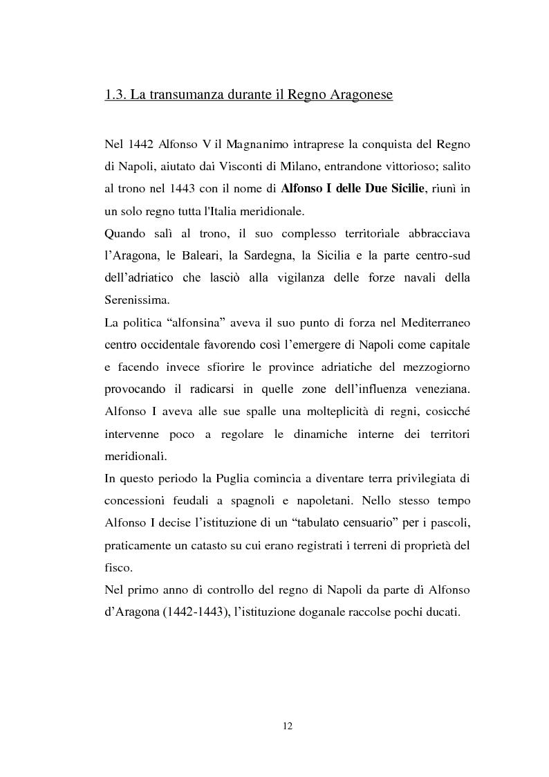 Anteprima della tesi: La cultura pastorale tra Puglia e Abruzzo, Pagina 7