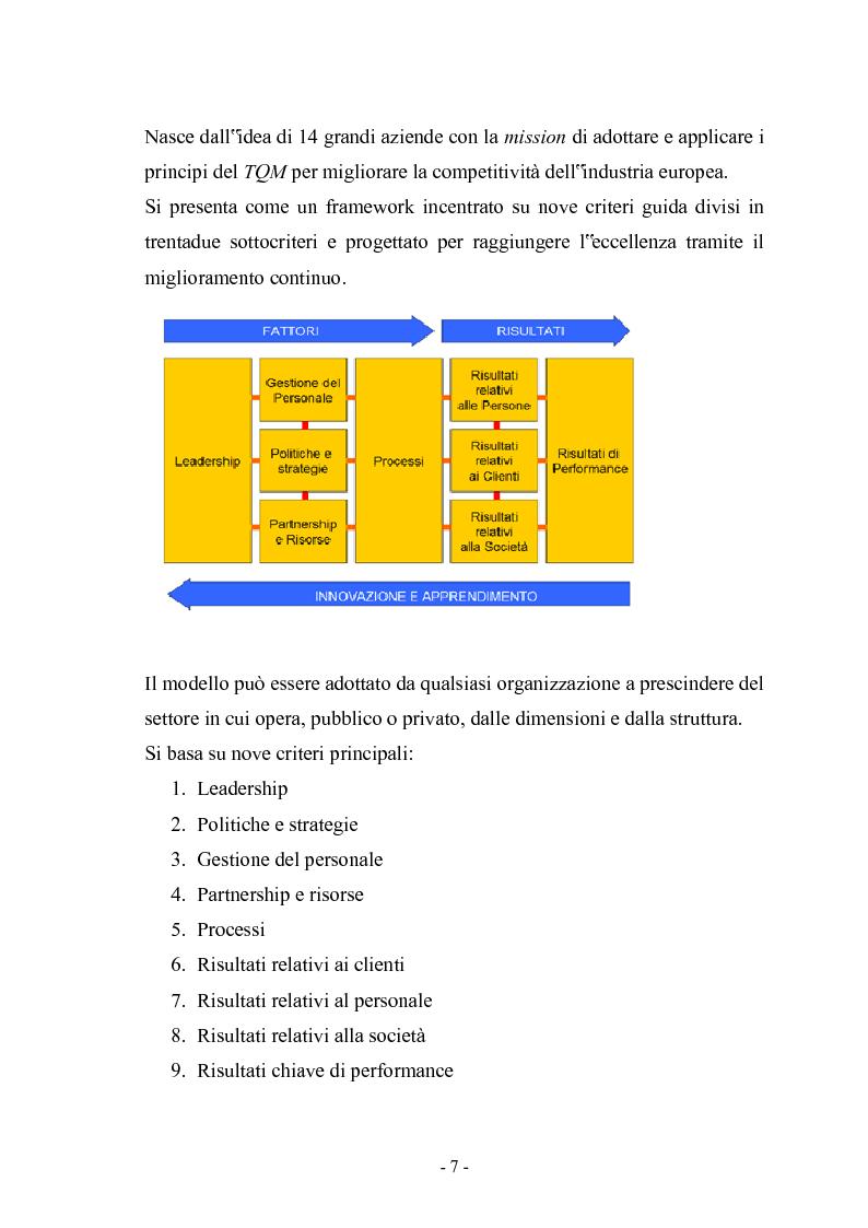 Anteprima della tesi: La gestione della Qualità nella produzione delle statistiche ufficiali, Pagina 2