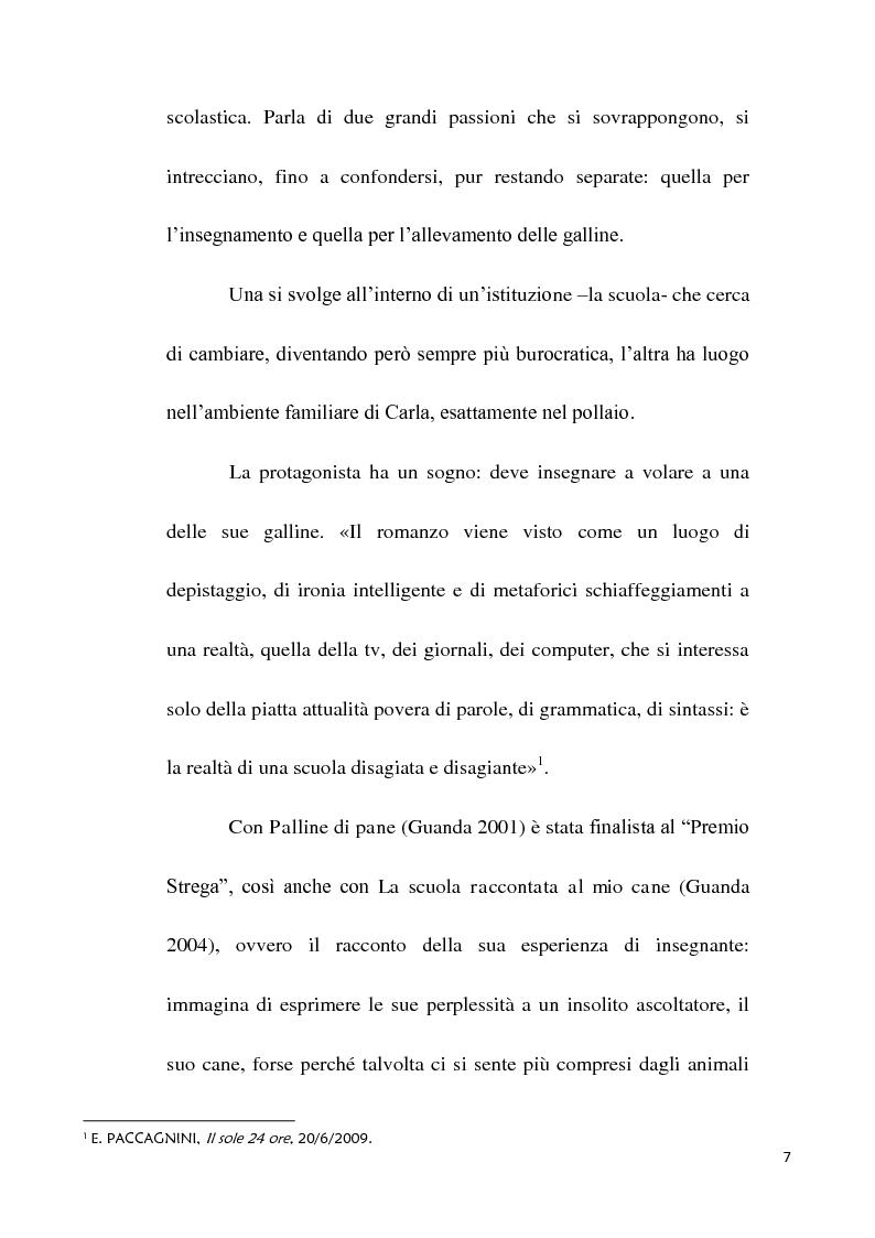 Anteprima della tesi: Scuola e società oggi nei romanzi di Paola Mastrocola, Pagina 4
