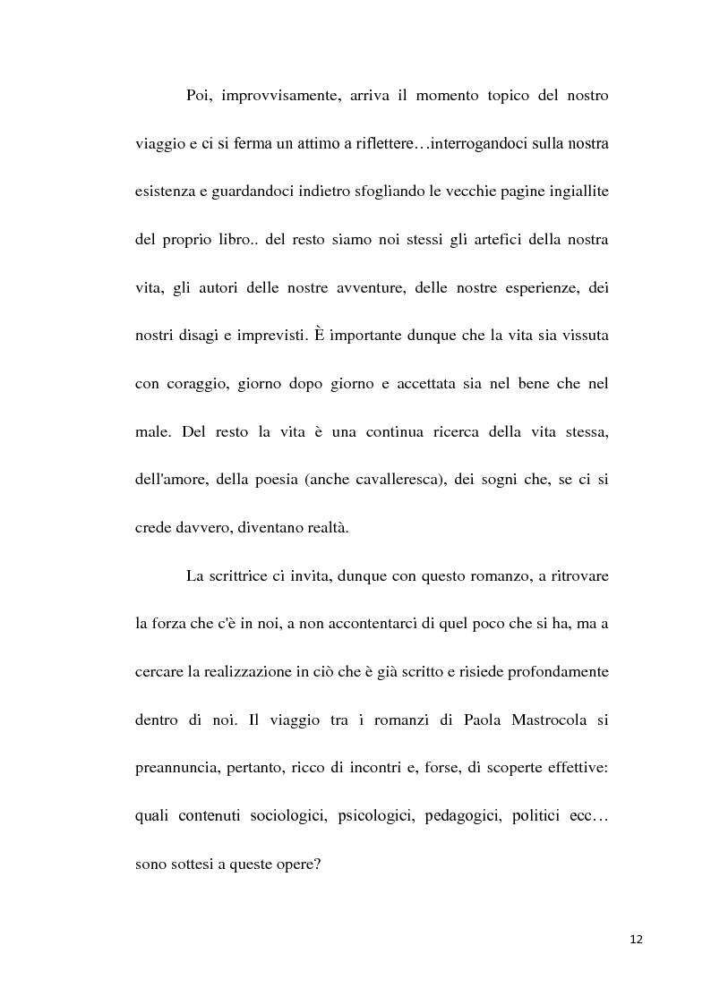 Anteprima della tesi: Scuola e società oggi nei romanzi di Paola Mastrocola, Pagina 9