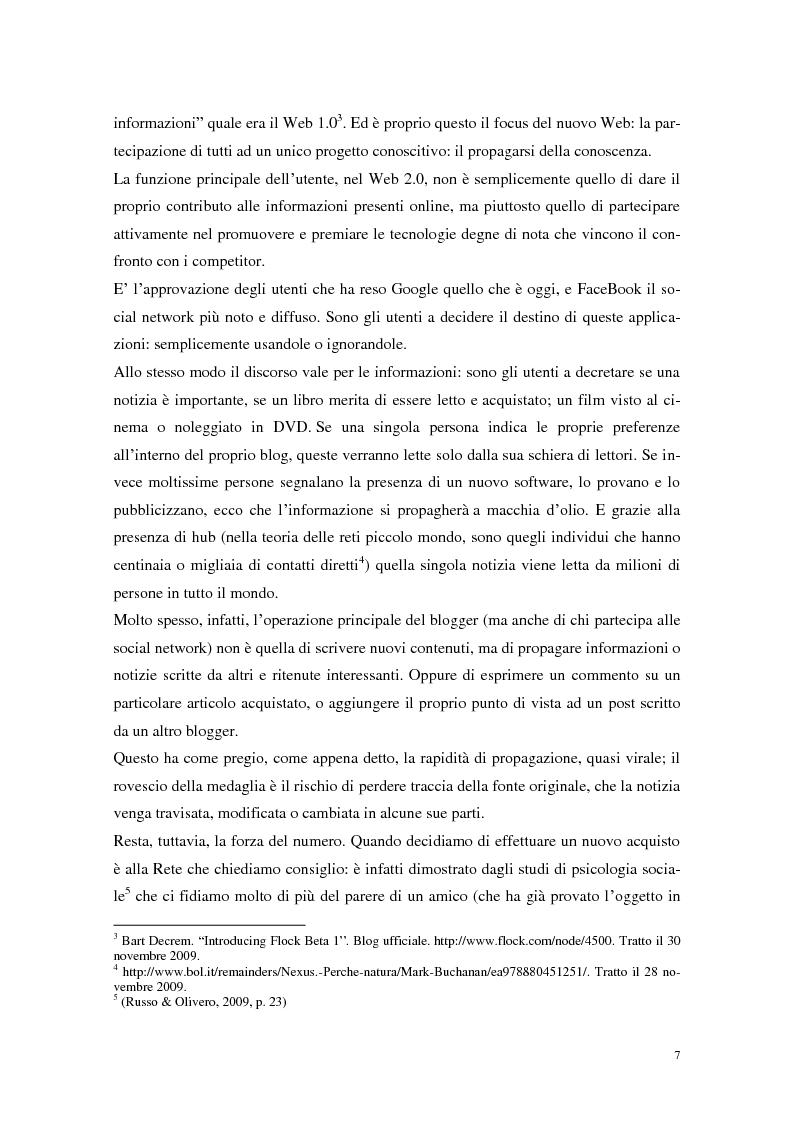 Anteprima della tesi: Strumenti Web 2.0 a supporto della didattica: un caso studio, Pagina 5