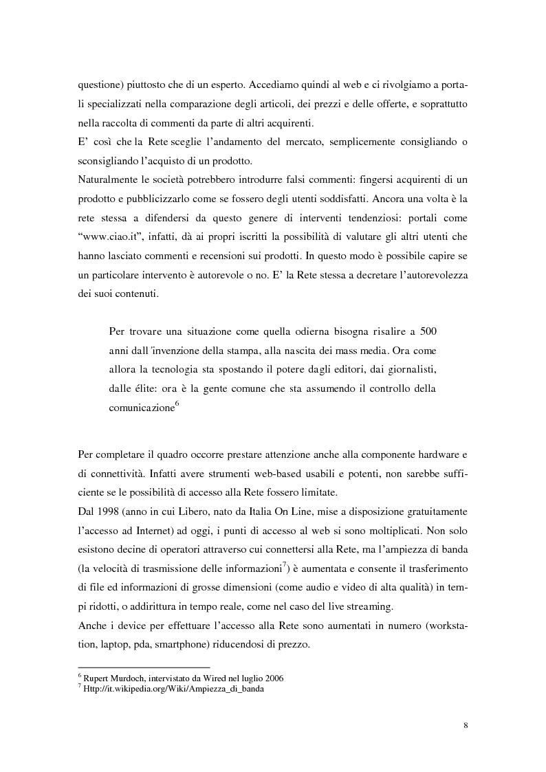 Anteprima della tesi: Strumenti Web 2.0 a supporto della didattica: un caso studio, Pagina 6