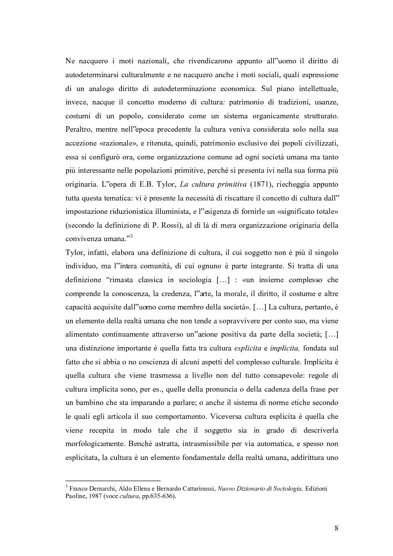Anteprima della tesi: Viaggio nell'organizzazione attraverso il veicolo della cultura, Pagina 3