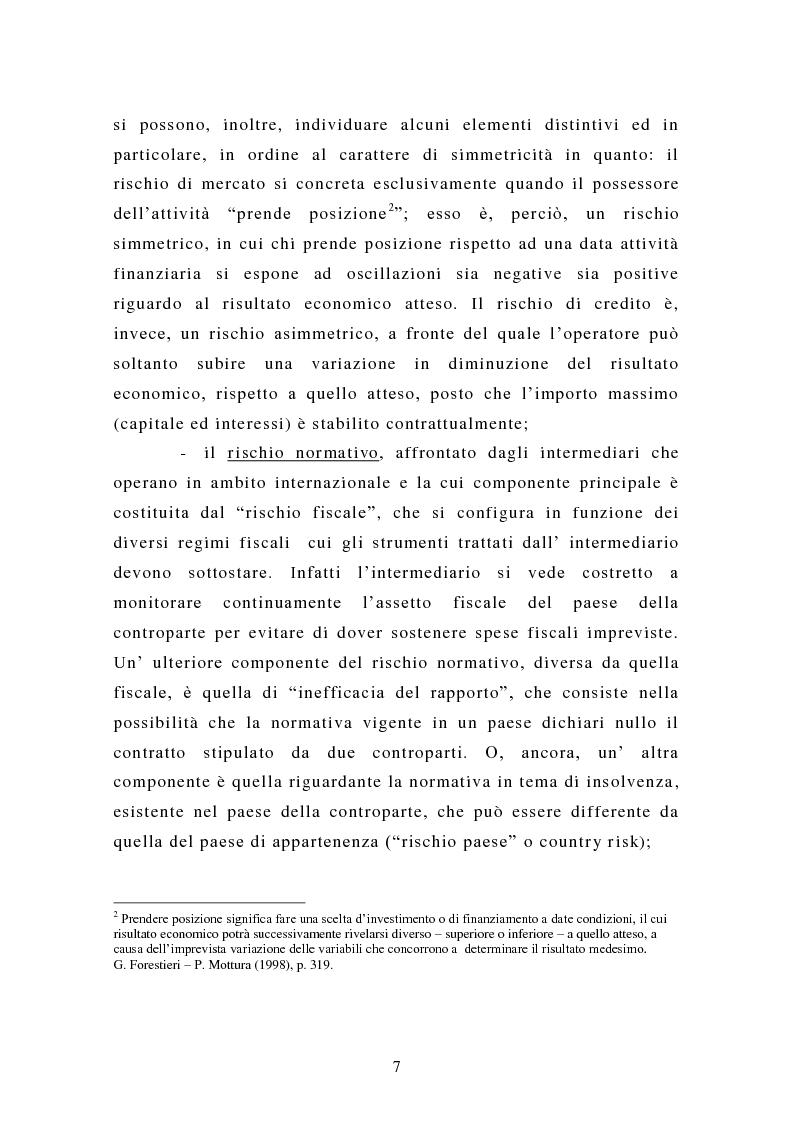 Anteprima della tesi: Alcune tipologie di derivati creditizi per la gestione del rischio di credito, Pagina 3