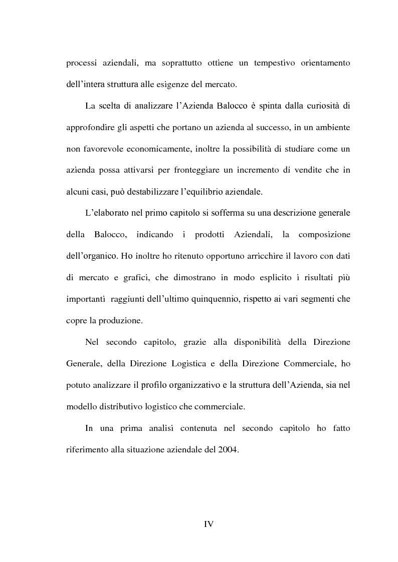 Anteprima della tesi: Impatto dei volumi di vendita sulla distribuzione aziendale: il caso Balocco S.p.A., Pagina 2