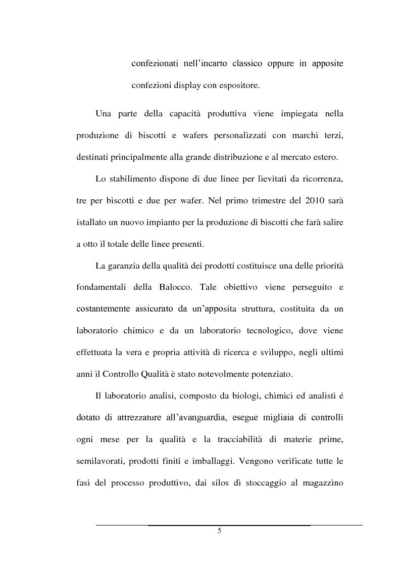 Anteprima della tesi: Impatto dei volumi di vendita sulla distribuzione aziendale: il caso Balocco S.p.A., Pagina 8