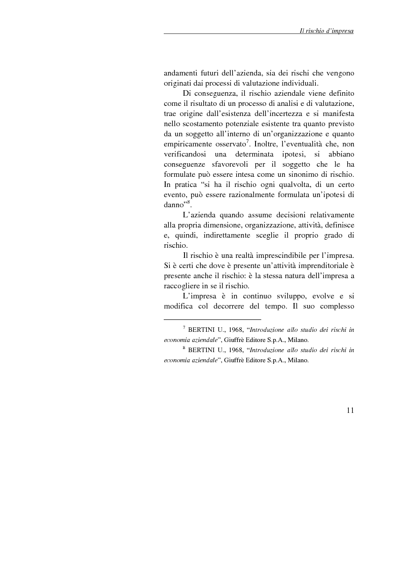 Anteprima della tesi: Enterprise Risk Management: il caso Gruppo Telecom Italia, Pagina 11