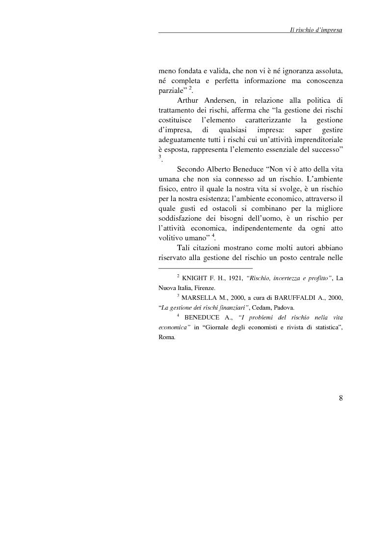 Anteprima della tesi: Enterprise Risk Management: il caso Gruppo Telecom Italia, Pagina 8