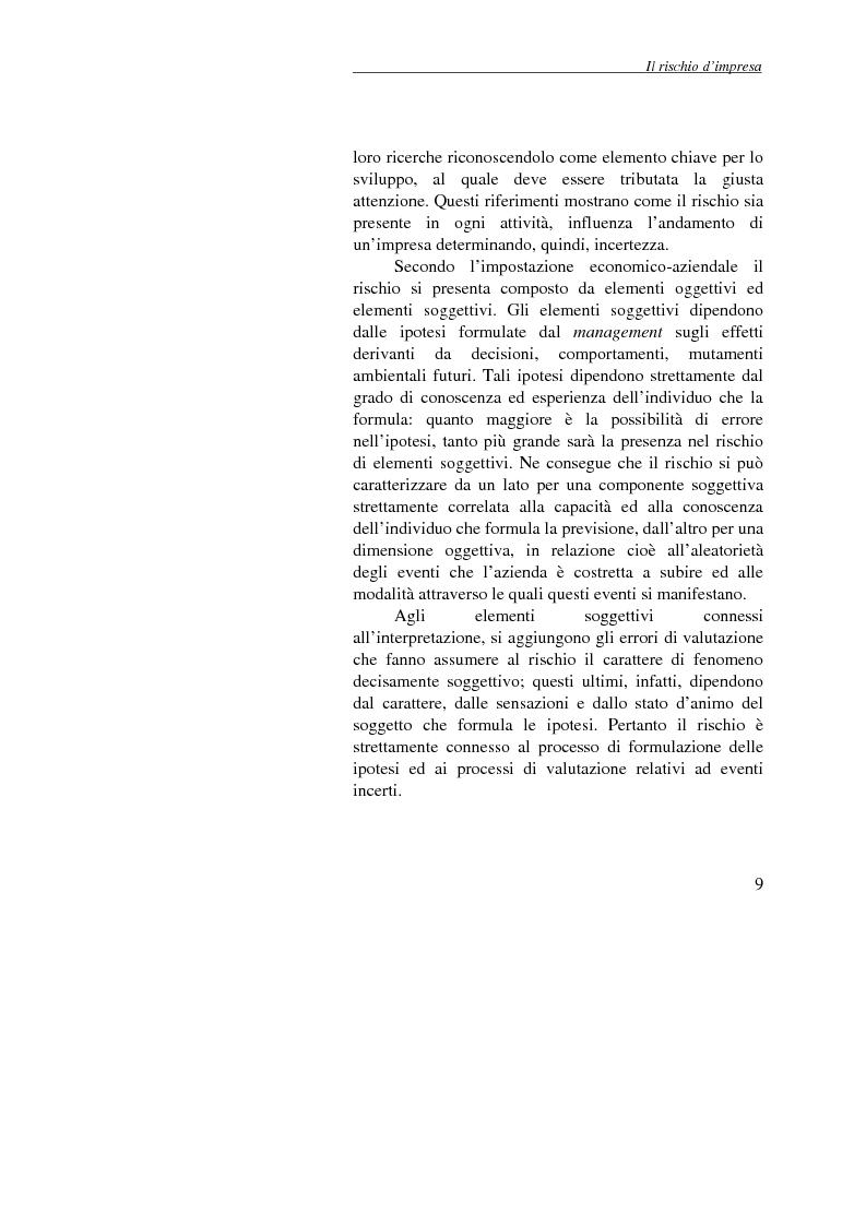 Anteprima della tesi: Enterprise Risk Management: il caso Gruppo Telecom Italia, Pagina 9