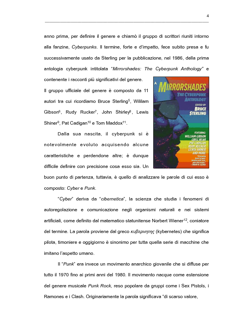 """Anteprima della tesi: """"It's an Endless World!"""" - Il cyberpunk giapponese nella prospettiva di Endo Hiroki, Pagina 2"""