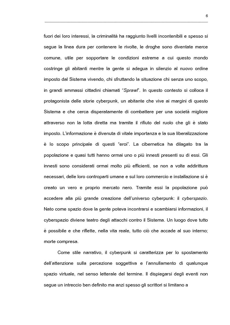 """Anteprima della tesi: """"It's an Endless World!"""" - Il cyberpunk giapponese nella prospettiva di Endo Hiroki, Pagina 4"""