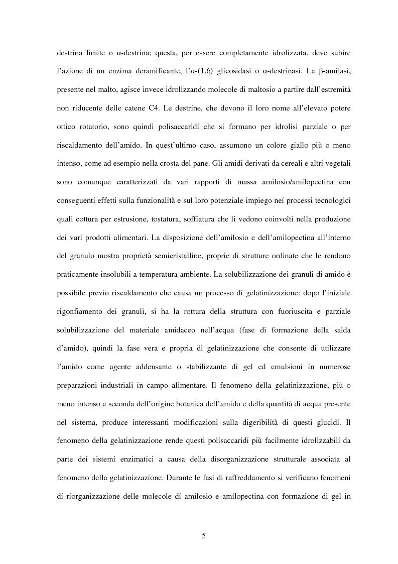 Anteprima della tesi: Le ciclodestrine nella chimica degli alimenti, Pagina 3