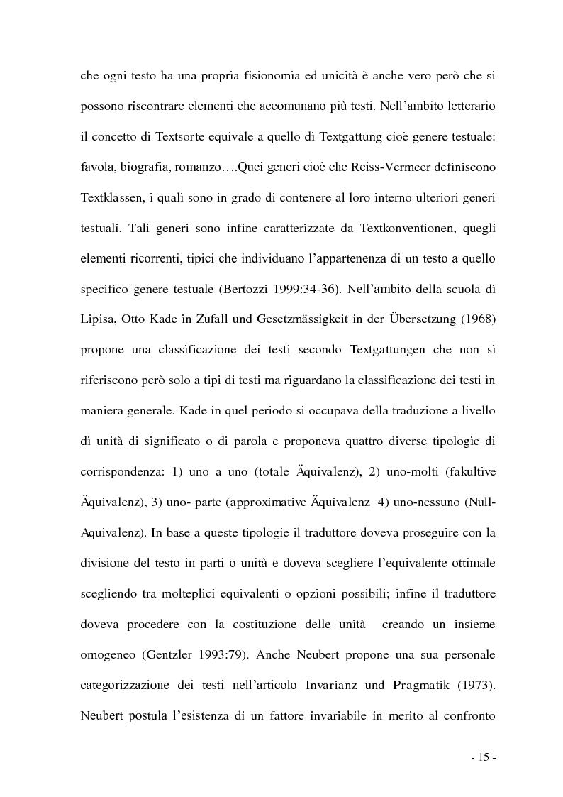 Anteprima della tesi: Problemi e/o difficoltà nella traduzione specializzata in ambito bancario, Pagina 10