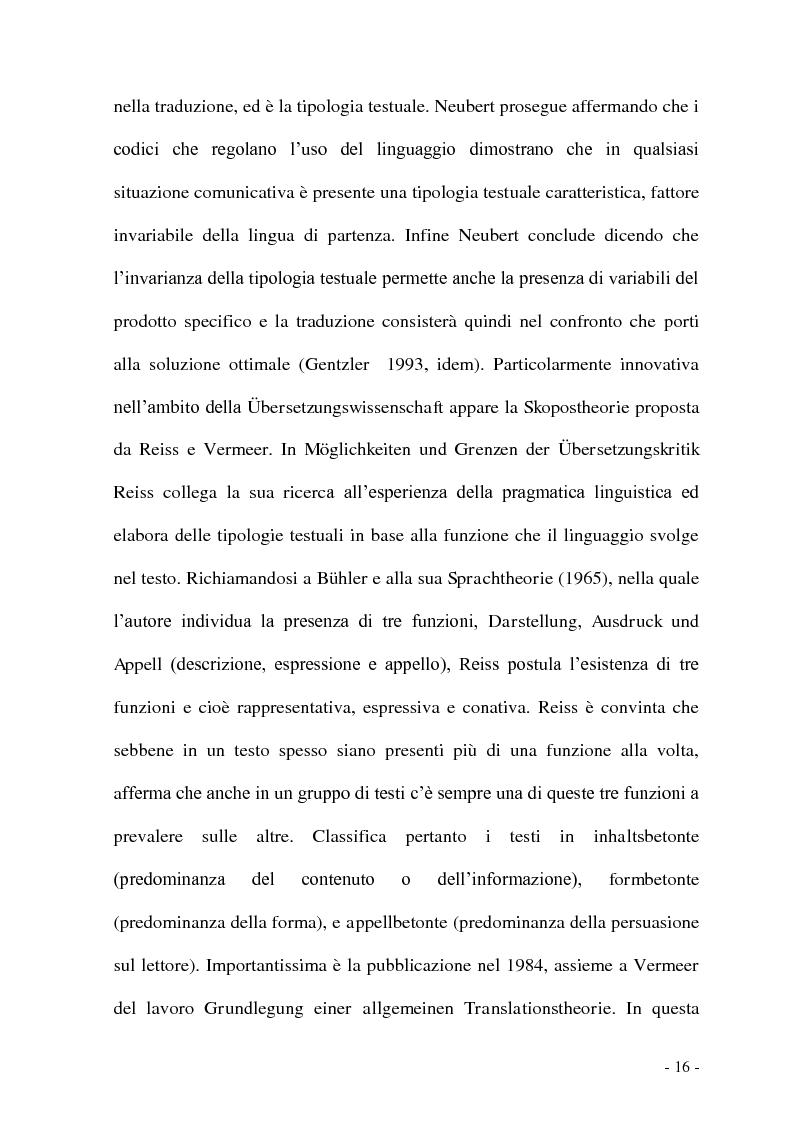 Anteprima della tesi: Problemi e/o difficoltà nella traduzione specializzata in ambito bancario, Pagina 11